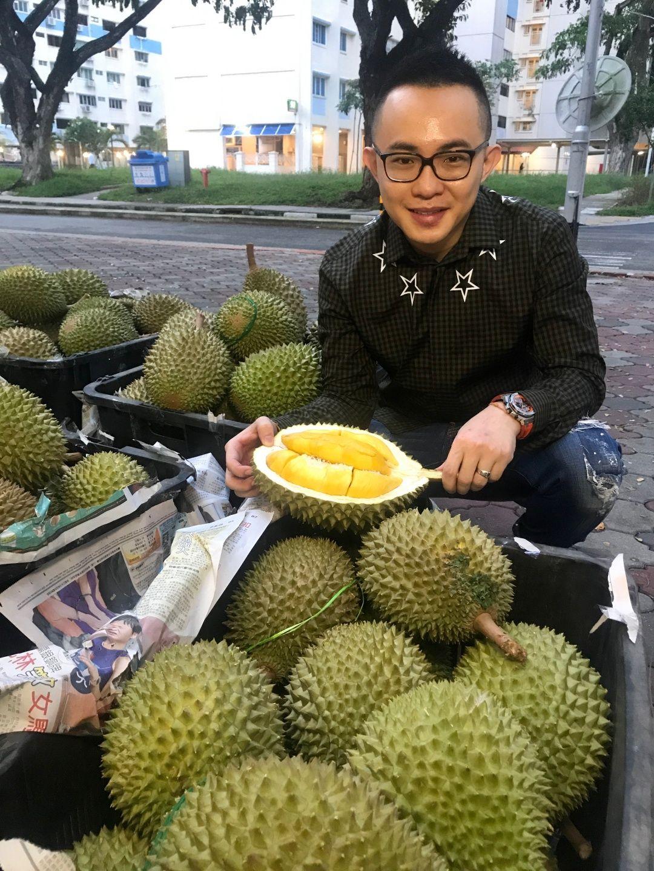 Toko Durian di Singapura