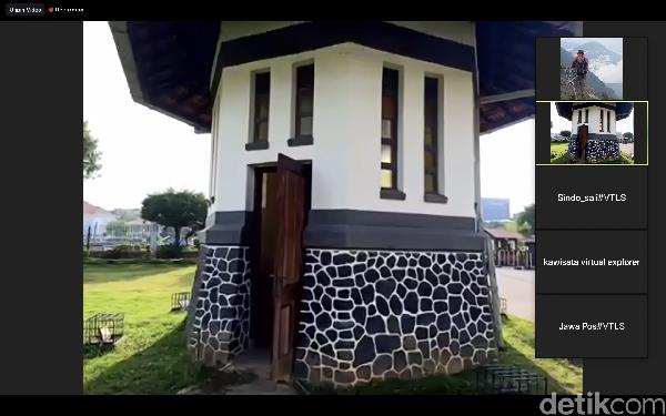 Bangunan kecil mirip pos satpam ini ternyata sumur yang memiliki kedalaman ratusan meter. Pembuatannya sudah dari tahun 1924 dan masih digunakan sumber airnya.