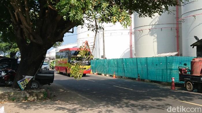Bus tujuan Jakarta masih beroperasi di Merak