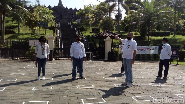New Normal di Candi Borobudur.