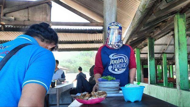 Pantai Depok di Bantul songsong New Normal.