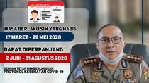 Polisi Beri Dispensasi Perpanjangan SIM Mati hingga 31 Agustus