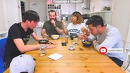 Cicip Seblak Habanero, Wajah Cowok Taiwan Ini Jadi Merah Banget!
