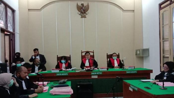 Sidang tuntutan kasus pembunuhan hakim Jamaluddin (Ahmad Arfah-detikcom)