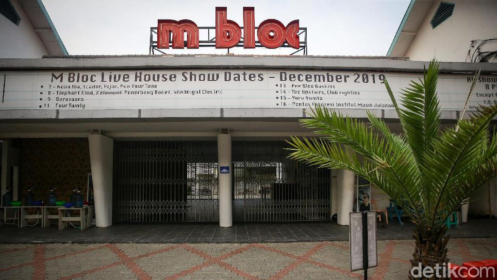 M Bloc Buka Mulai Hari Ini, Pertunjukan Musik Masih Tutup
