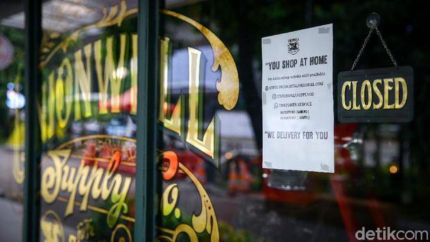 Tempat nongkrong kekinian di kawasan M Bloc, Jakarta, masih sunyi imbas pandemi Corona. Berikut foto-foto terkininya!