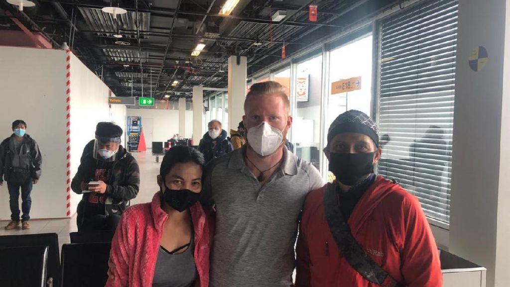 Warga Banjarmasin yang Sempat Terjebak Lockdown di Nepal Kembali ke Tanah Air