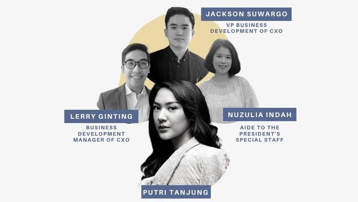 Webinar Putri Tanjung & Team
