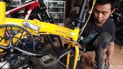 Bengkel Sepeda Kebanjiran Pasien, Waiting List Sampai Dua Minggu