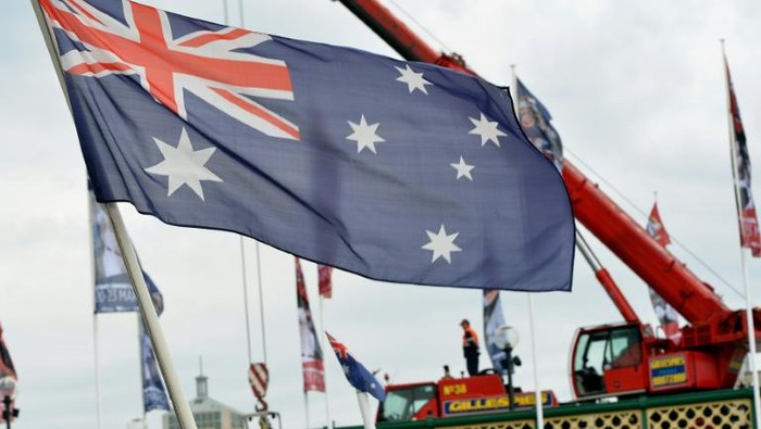 Bendera Australia (AFP Photo)