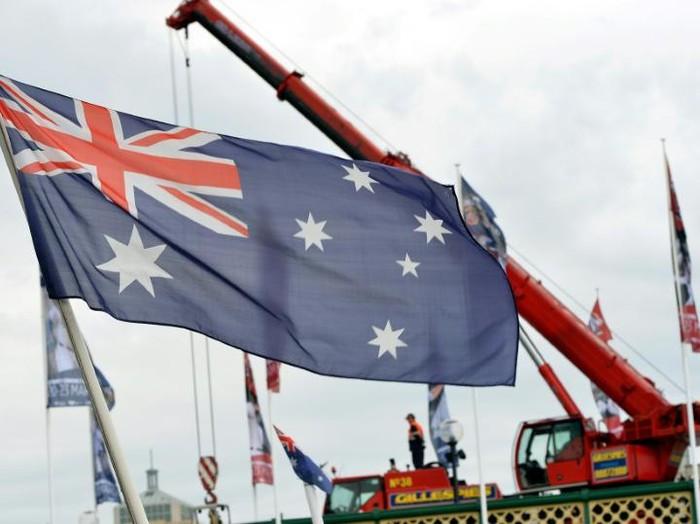 Bendera Australia (AFP Photo)