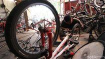 Bengkel Sepeda Kebanjiran Pasien, Sepeda Lipat Mendominasi