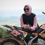 Bupati Luwu Utara Blusukan ke Pelosok Andalkan Sepeda Motor Trail