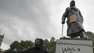 Deretan Patung Ini Jadi Sasaran Vandalisme Demonstran George Floyd