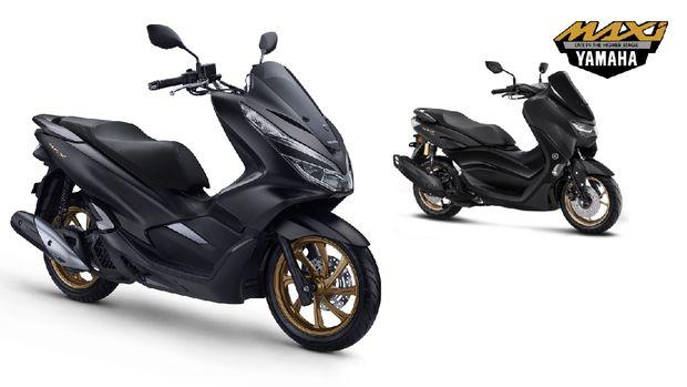 Honda PCX dan Yamaha All New Nmax