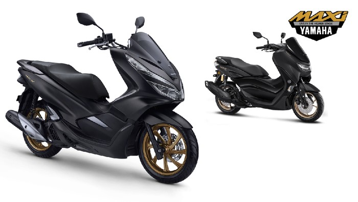 Honda PCX dan Yamaha All New Nmax
