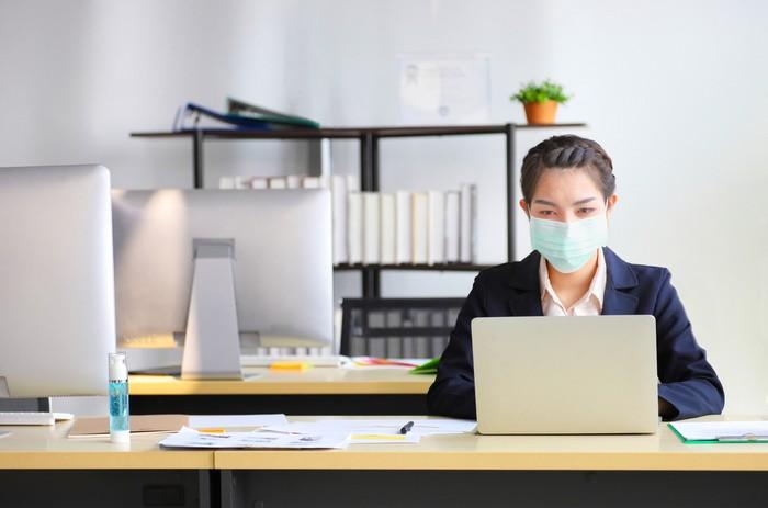Kerja saat pandemi COVID-19
