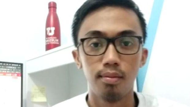 Ketua Persatuan Mahasiswa Indonesia di AS (Permias) Chapter Negara bagian Utah, Saldi Yusuf.