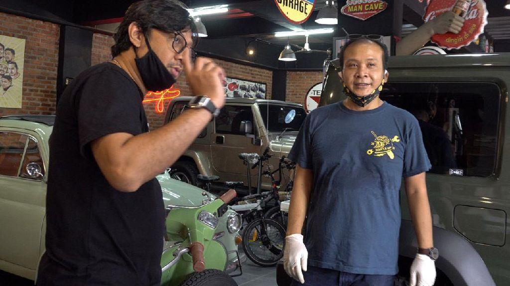 Cerita Andre Taulany Rogoh Rp 55 Juta untuk Modifikasi Vespa Klasiknya