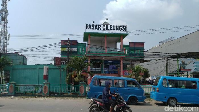 Pasar Cileungsi (Sachril Agustin Berutu/detikcom)