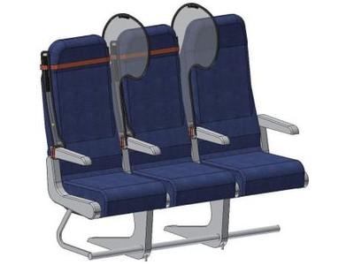 Lagi, Ada Alat Sederhana Pencegah Virus Corona di Kursi Pesawat