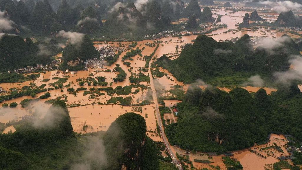 Lahan Pertanian China Dilanda Banjir, Harga Pangan Terancam Naik