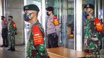 Siap Dibuka, Blok A Pasar Tanah Abang Dijaga TNI-Polri