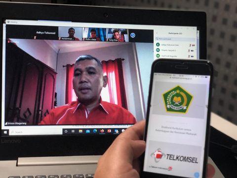 Telkomsel dan Kementerian Agama mengumumkan kolaborasi bersama dengan menghadirkan program