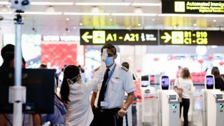 Transit area di Bandara Changi