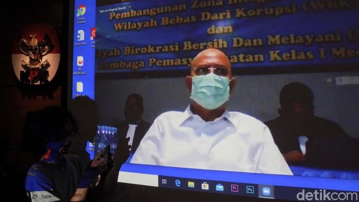 Sidang putusan kasus dugaan suap Wali Kota Medan nonaktif Dzulmi Eldin digelar hari ini. Sidang digelar di ruang Cakra II di Pengadilan Tipikor Medan.
