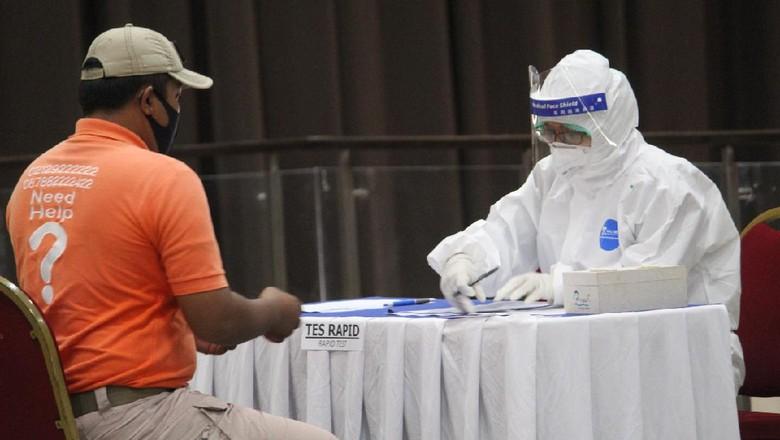 Pelaksanaan Rapid test dan SWAB test ke seluruh karyawan Ancol.