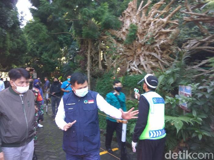 Bupati Bandung Barat cek kesiapan objek wisata sebelum dibuka besok