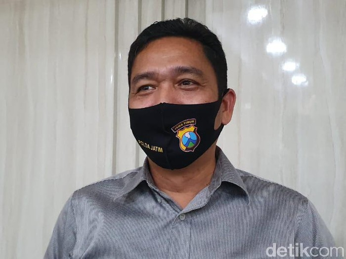 Dirresnarkoba Polda Jatim Kombes Cornelis Mangarahon Simanjuntak