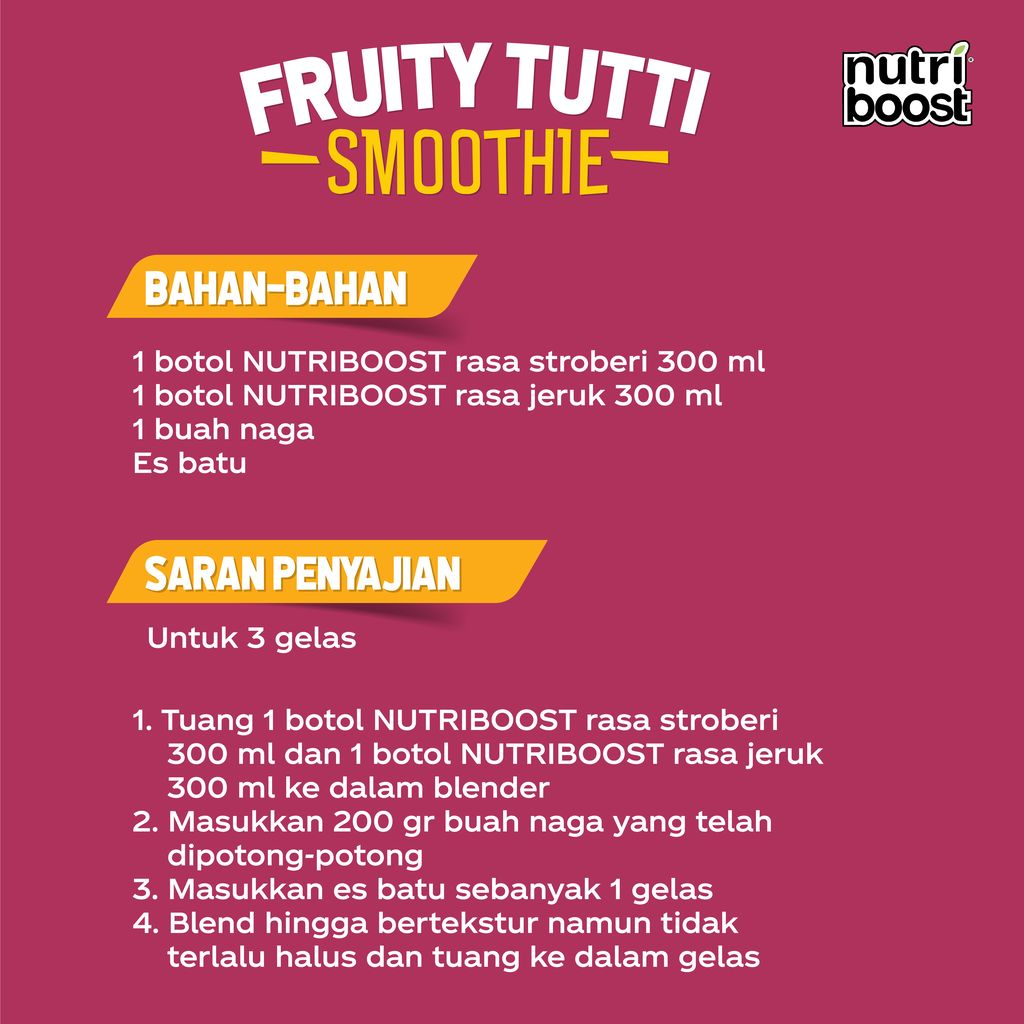 Fruity Tutti Smoothie