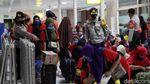 Kepulangan Ratusan TKI Ilegal dari Malaysia