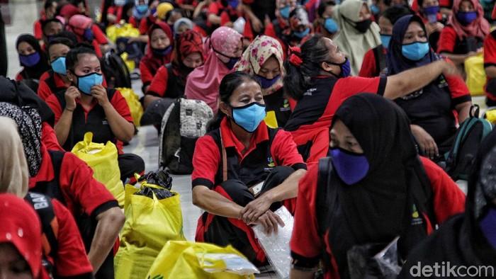 Sebanyak 436 TKI Ilegal tersebut nantinya akan dipulangkan ke daerah asalnya di 22 provinsi di Indonesia.