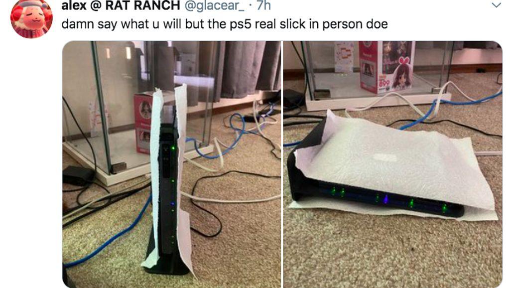 Aneka Meme Kocak Sindir Desain PlayStation 5