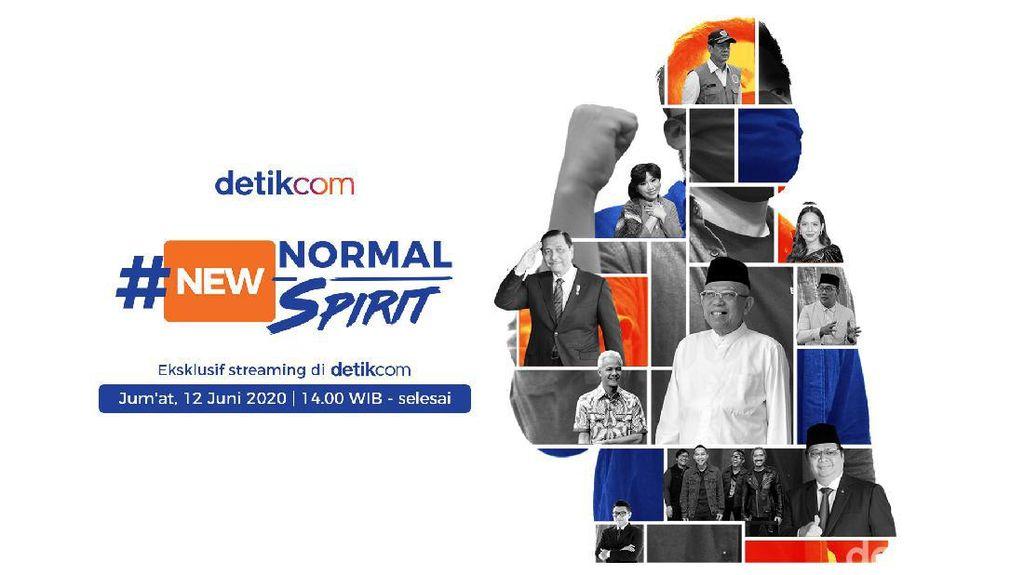 New Normal New Spirit! Sehat, Inovatif dan Berbagi