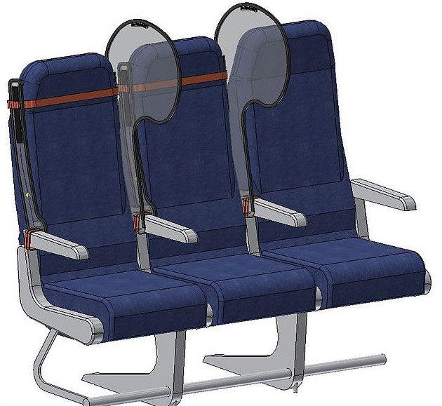 Perisai transparan kursi tengah, Personal Protection Window (PPW)
