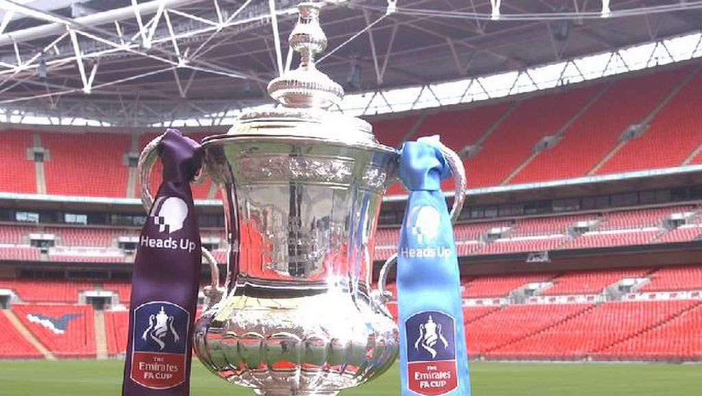 Final Piala FA Ganti Nama demi Kampanye Kesehatan Mental