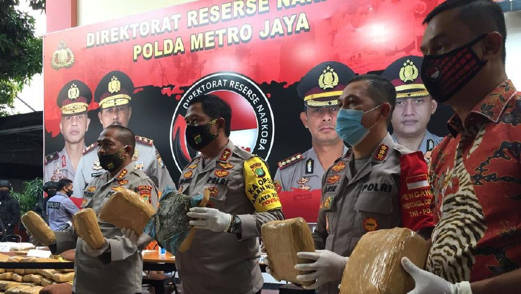 Kapolda Metro Sebut Peredaran Narkoba Marak di Tengah Pandemi COVID-19