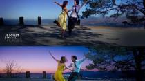 Pasangan Kompak Keliling Dunia Meniru Adegan Film, Hasilkan Foto Keren Ini