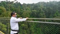 Wamen LHK Tinjau Kesiapan New Normal Jembatan Situ Gunung