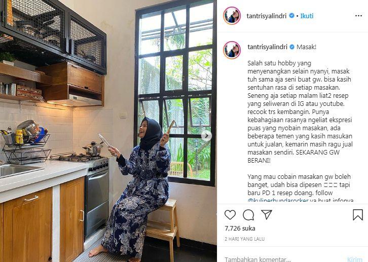 Tantri 'Kotak' buka bisnis kuliner dari hobi memasaknya