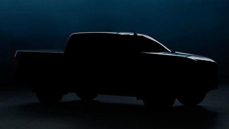 Teaser pikap terbaru Mazda