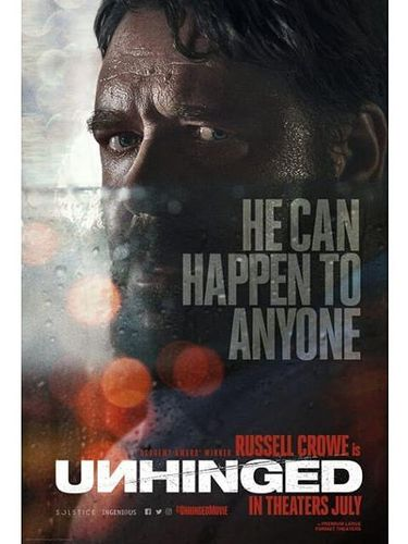 Poster film Unhinged.