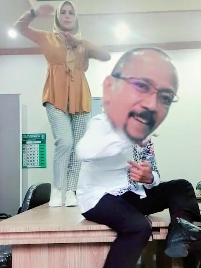 viral video tiktok kepala dinas di bondowoso