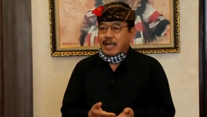 Wakil Gubernur Bali Tjokorda Oka Artha Ardhana Sukawati (Cok Ace)