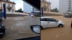 Banjir Bandang di Prancis, Mobil-Mobil Terendam
