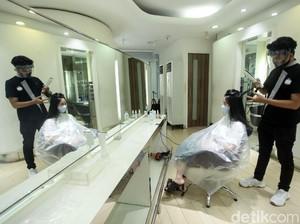 Seperti Ini Kondisi Salon di Jakarta di Era New Normal